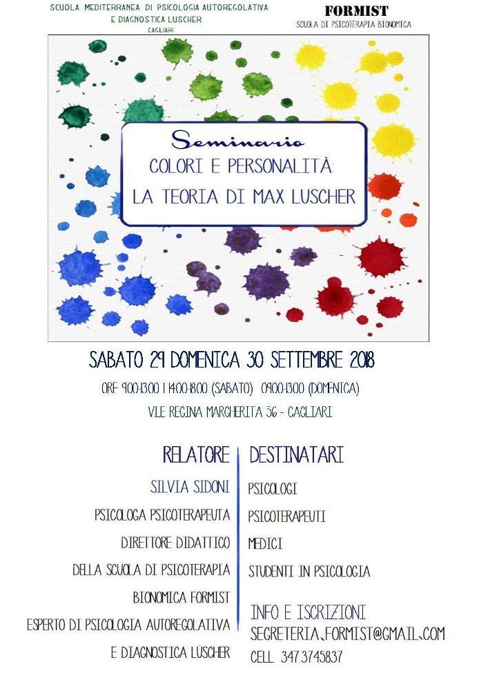 colori e personalità