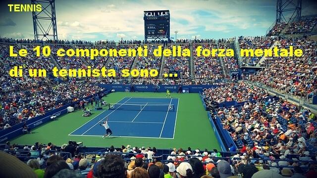 forza mentale e tennis